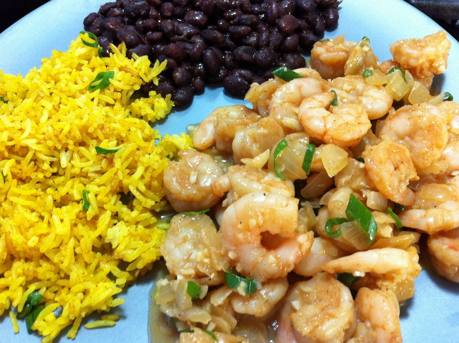 Cooking with SAHD: Border-Style Shrimp with Yellow Rice ...