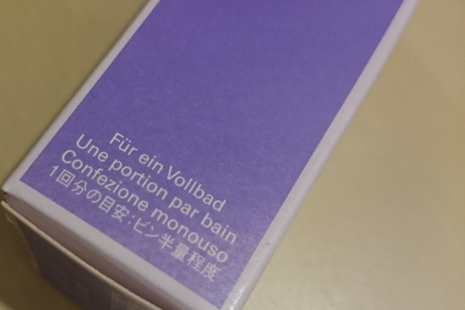 Weleda Lavendel Entspannungsbad