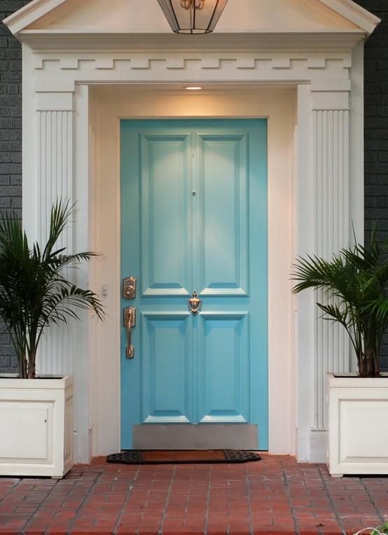 Blue Front Door : Ella baba blue front doors