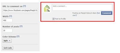 Cara Membuat Kolom Komentar Facebook di Blog www.duan.web.id