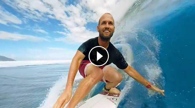 Samsung Galaxy VR Surfing in Tahiti