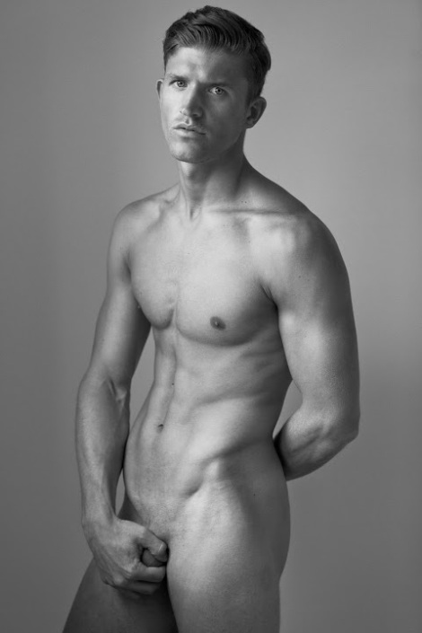 Deaf Footballer Jamie Clarke naked