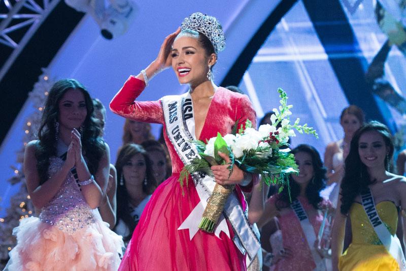 Miss Universe 2012 winner Olivia Culpo of USA