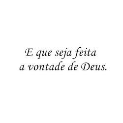 A vontade de Deus é sempre perfeita!