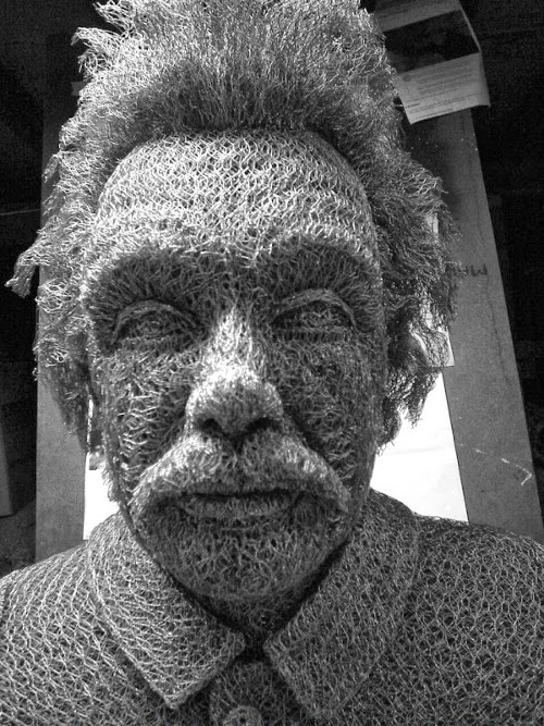 20-Albert-Einstein-Chicken-Wire-Sculptures-Sculptor-Ivan-Lovatt-www-designstack-co