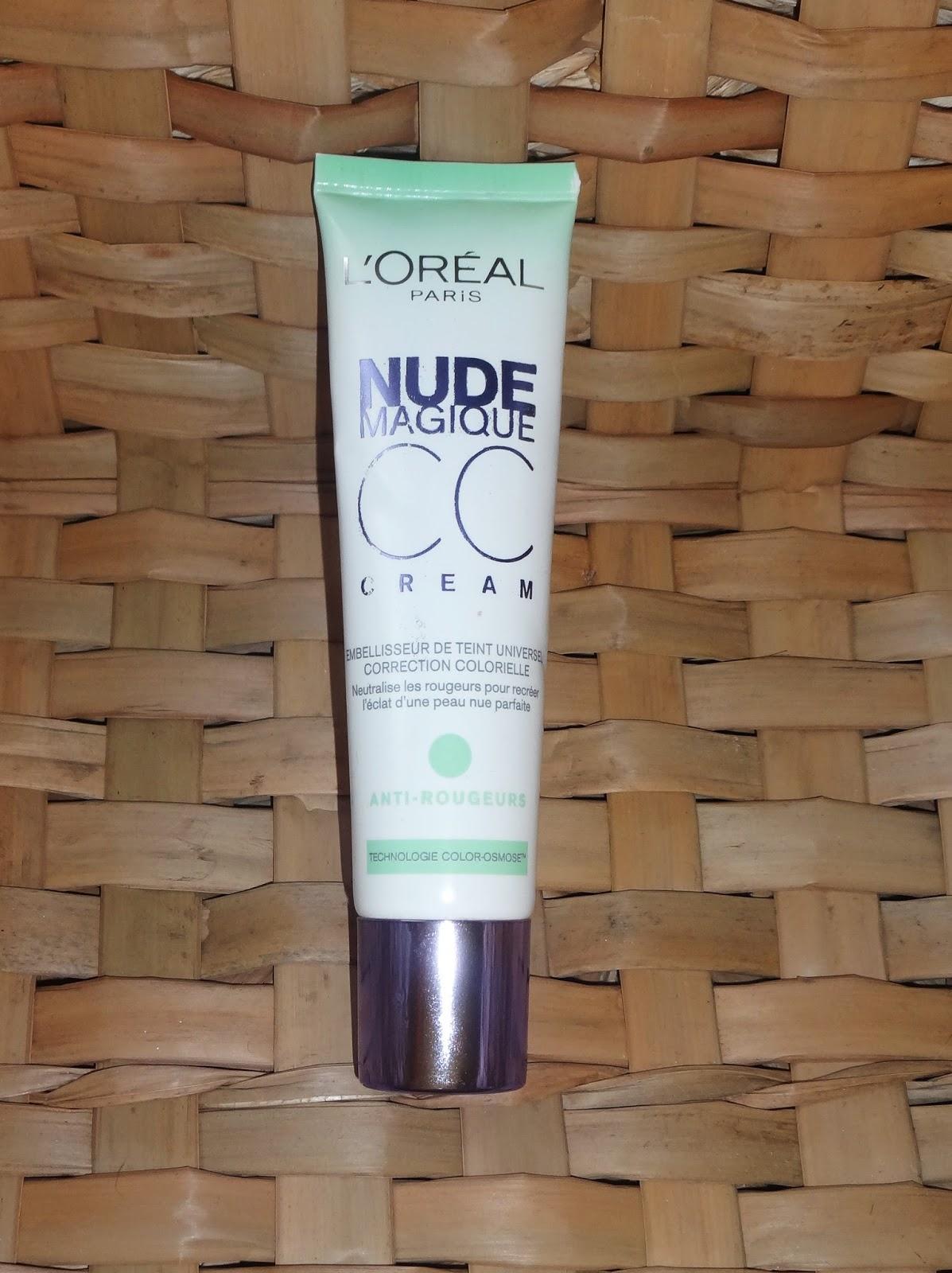 Jai testé pour vous la CC Cream Nude Magique anti