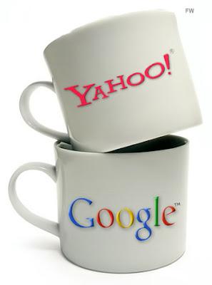 Yahoo supera Google em acessos nos Estados Unidos.