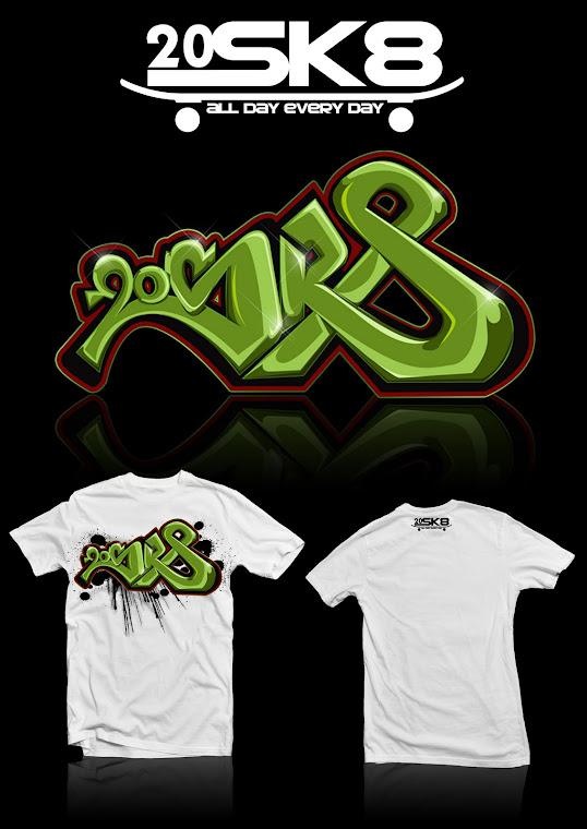 20sk8 T-shirt design