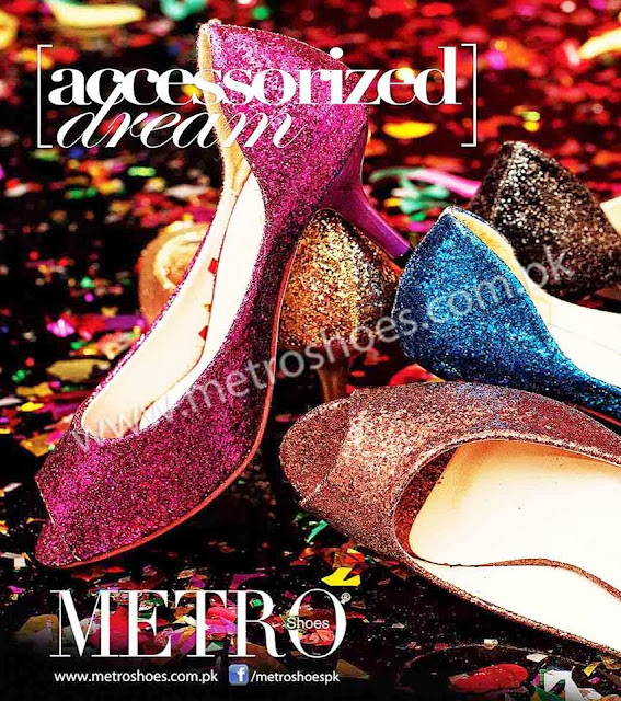 Metro Shoes Winter Eid Latest Collection 2013-2014 For Women By Fashion She9