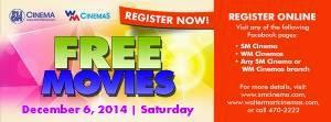 Enjoy FREE Movie at SM Cinemas, free movies, free movie SM cinema