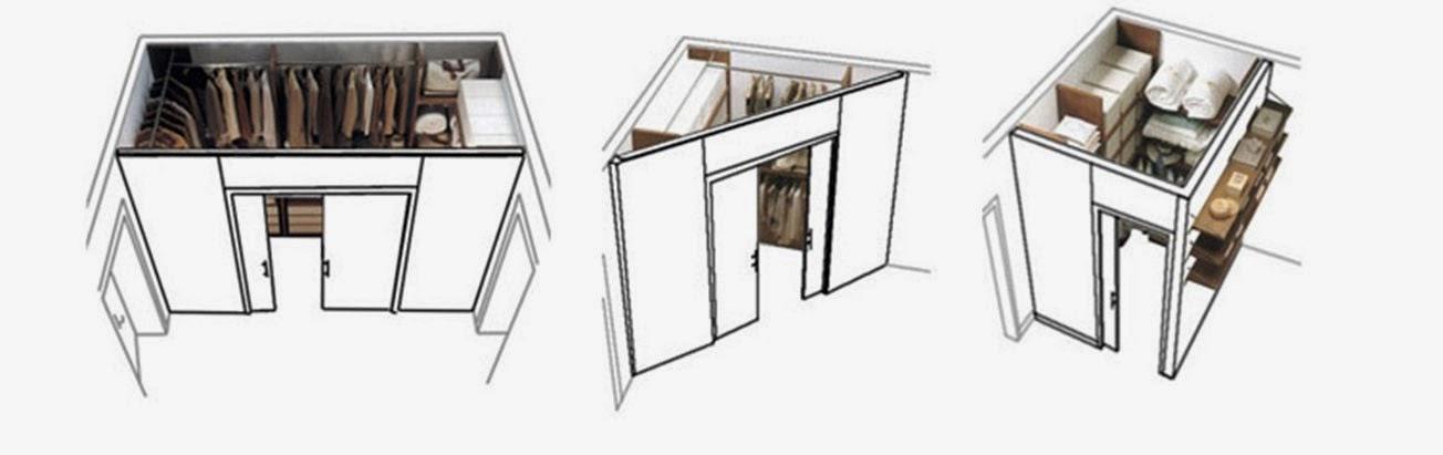 il cartongesso: infiniti modi di creare... ~ ti arredo casa - Personalizzati Cabina Armadio Rimodellare