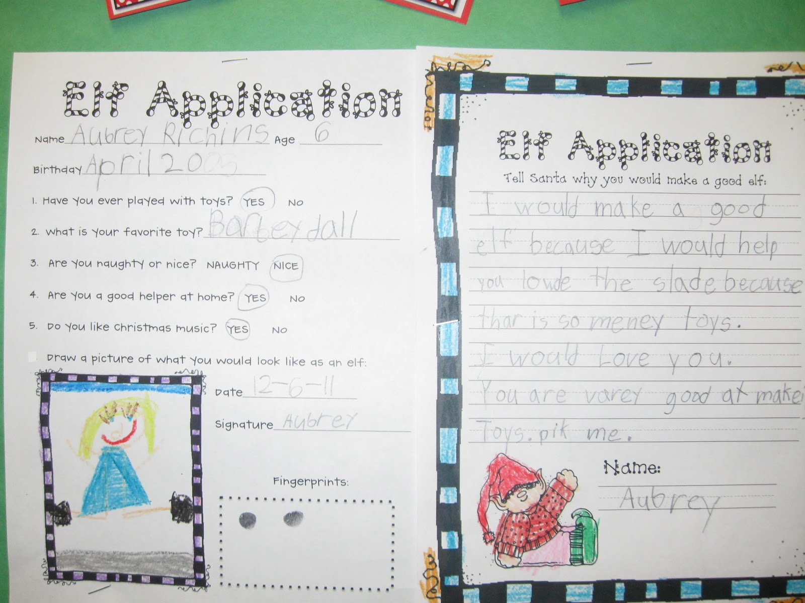 what the teacher wants elves wanted