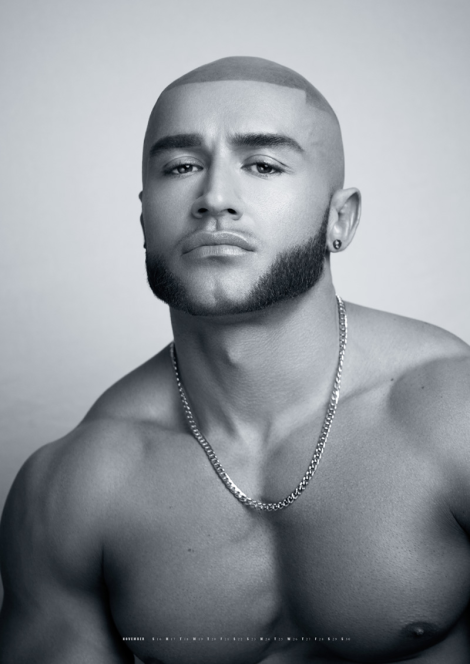 Francois Sagat by Exterface for 2014 Kick Calendar