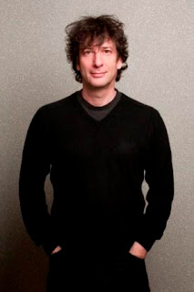 Author of Fortunately, the Milk, Neil Gaiman. Photo by Kimberly Butler