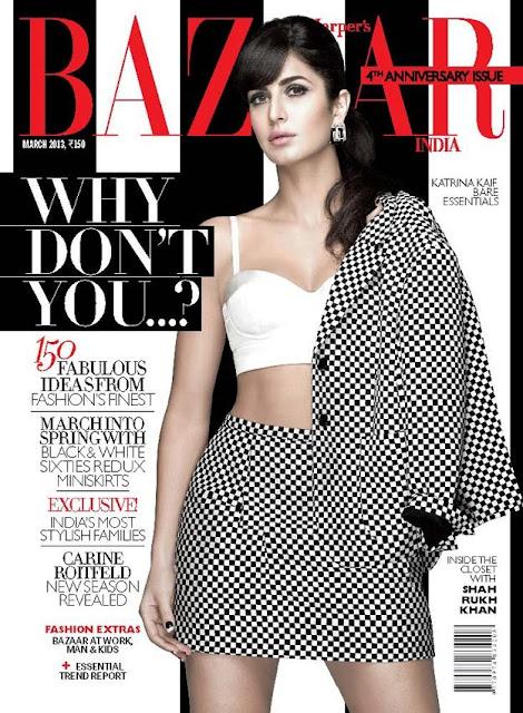 Katrina Kaif Harpers Bazaar 2013