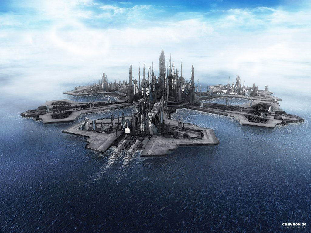 Landscape from stargate atlantis the movie