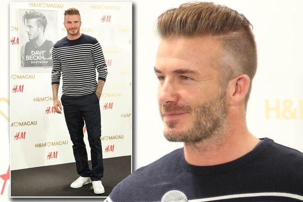 Wear It Like Beckham David Beckham Opens H Amp M Store In Macau
