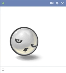 Facebook Ghost Emoticon