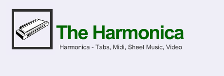 Harmonica Tabs Key C, Diatonic, Tremolo, Midi, Video, Sheet Music, Relax