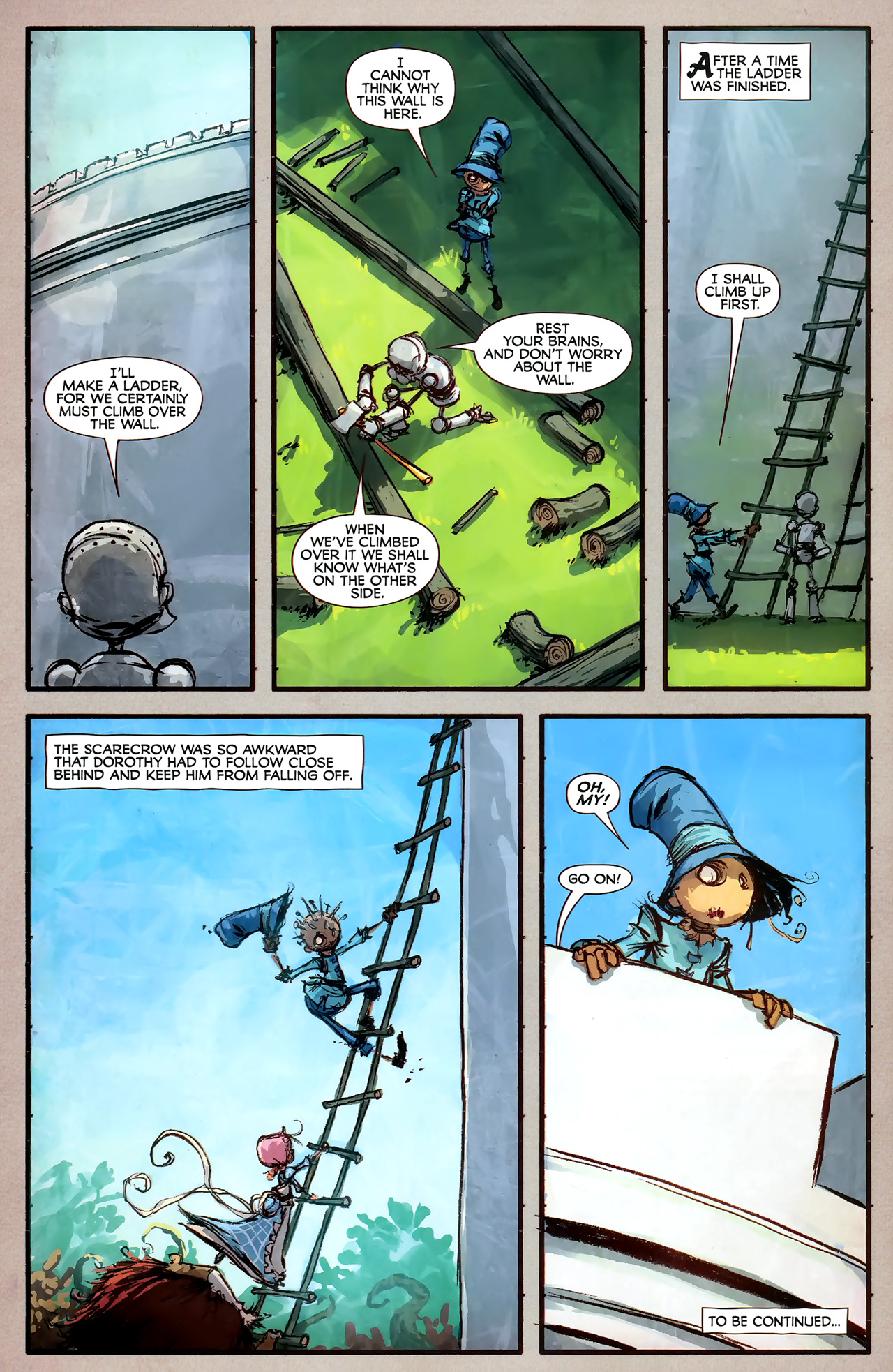 Read online The Wonderful Wizard of Oz comic -  Issue #7 - 24