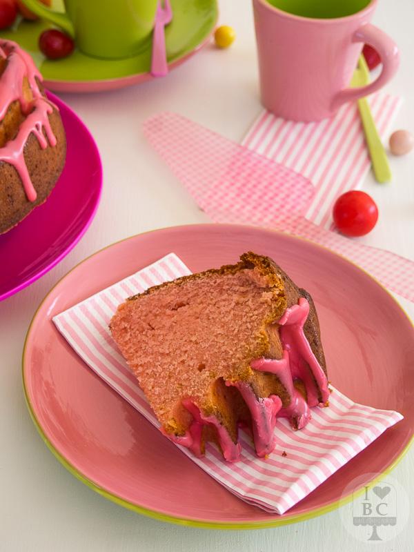 Bubble Gum Bundt Cake