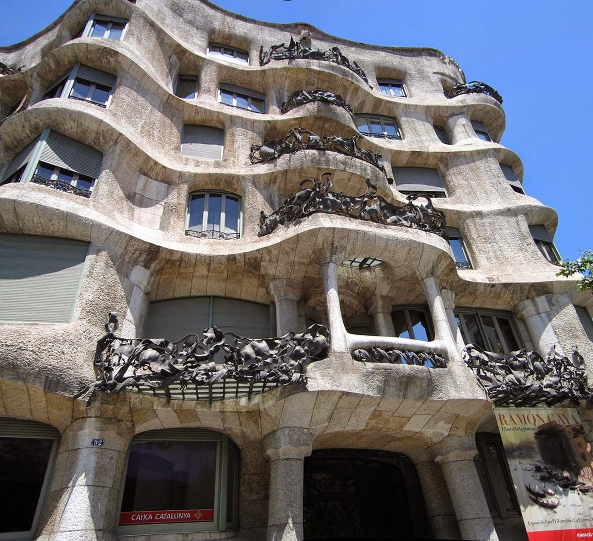 Historia Del Arte Temas Y Selecci N De Im Genes Casa Mil O La  # Muebles Gaudi Guadalajara