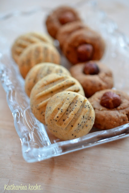 zitrone mohn kekse cookies plätzchen haselnuss