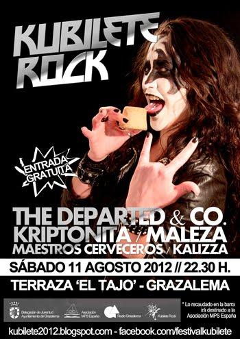 Cartel Kubilete Rock 2012