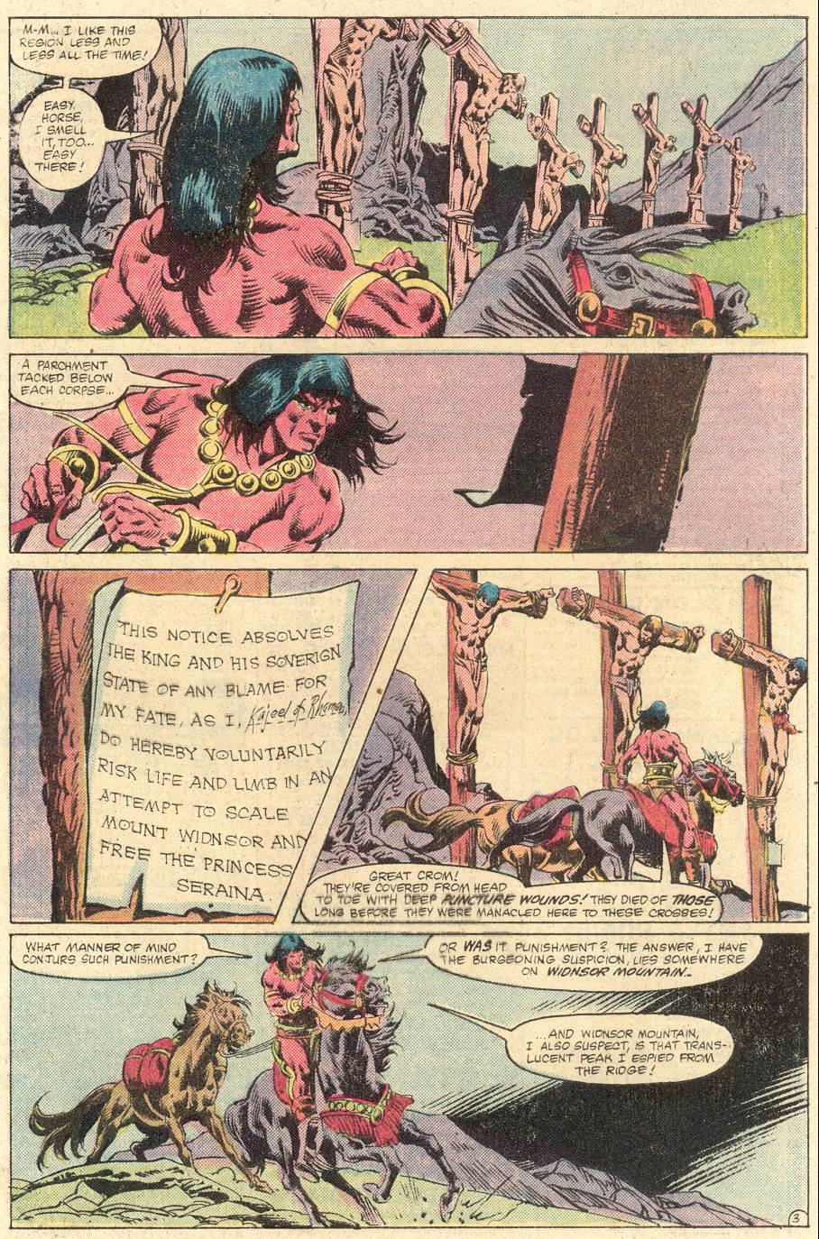 Conan the Barbarian (1970) Issue #133 #145 - English 4