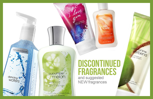 Bath And Body Works Discontinued Scents