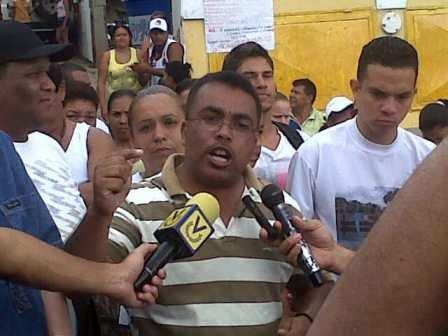 José Saavedra. Dirigente social del municipio Libertador