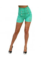 Pantaloni Scurti Pantalon scurt TEO green Escape Star Jeans (Escape Star Jeans)
