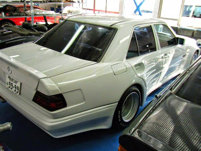 mercedes 300e abc widebody