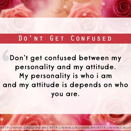 Tentang Kamu: Kelakuan dan Personaliti Saya !