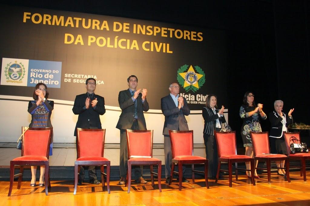 Polícia Civil do Estado do Rio forma 414 novos inspetores de polícia