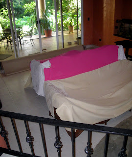 covered furniture