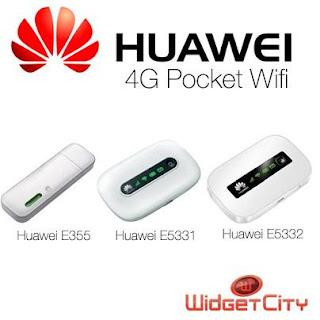 Huawei E355, E5331, E5332 Pocket Wi-Fi
