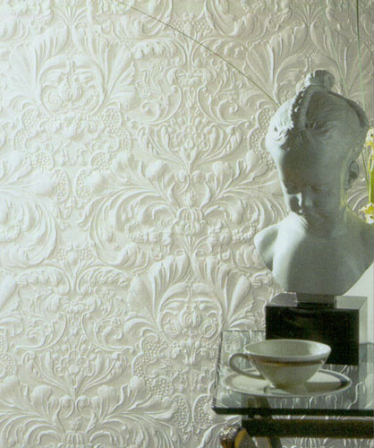 Embossed wallpaper design or anaglypta wallcovering ideas for Embossed wallpaper