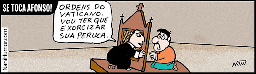 Se toca Afonso!  exorcismo