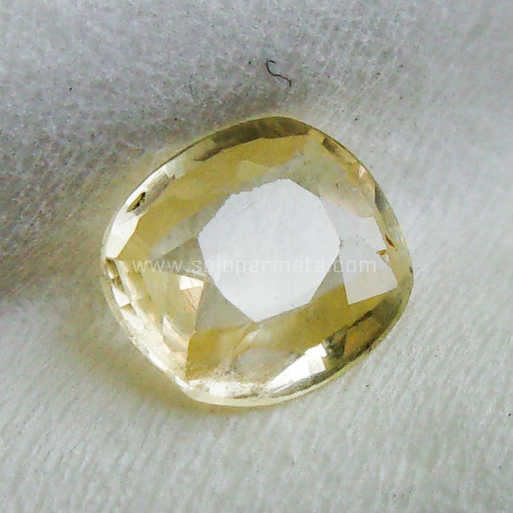 Batu Permata White Sapphire Ceylon - SP945