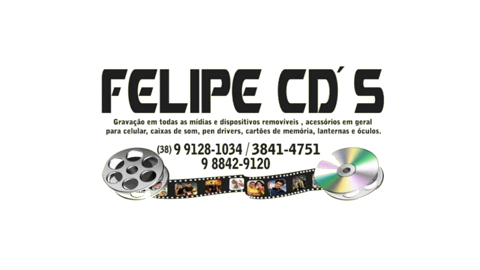 FELIPE CDs SALINAS MG