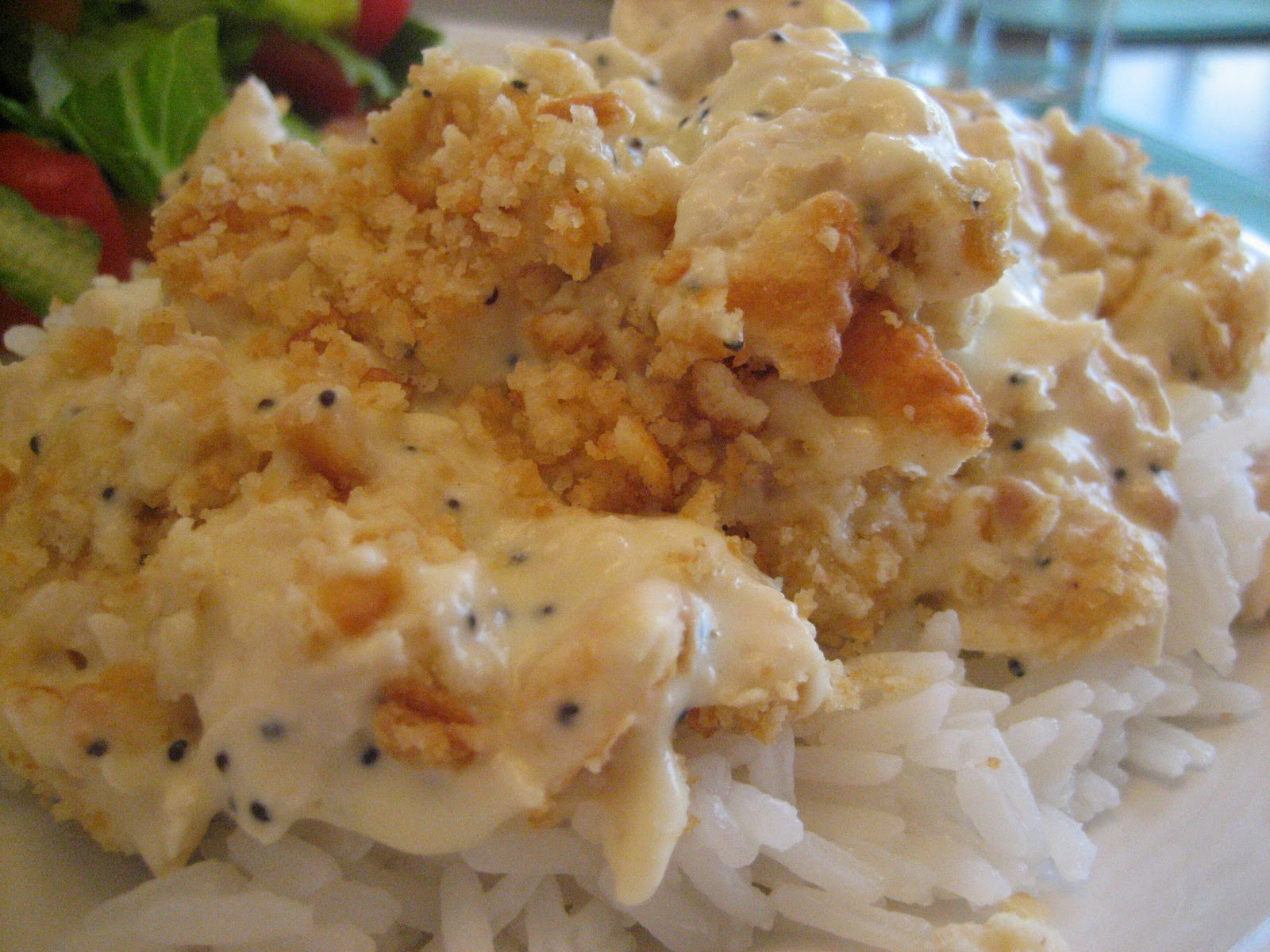 Food is a Blessing: Poppy Seed Chicken and Rice