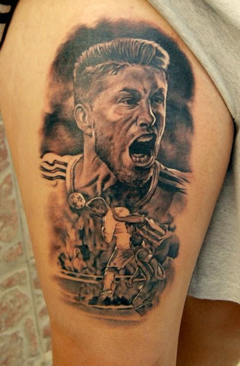 Ink real madrid footy fair for Real madrid tattoos