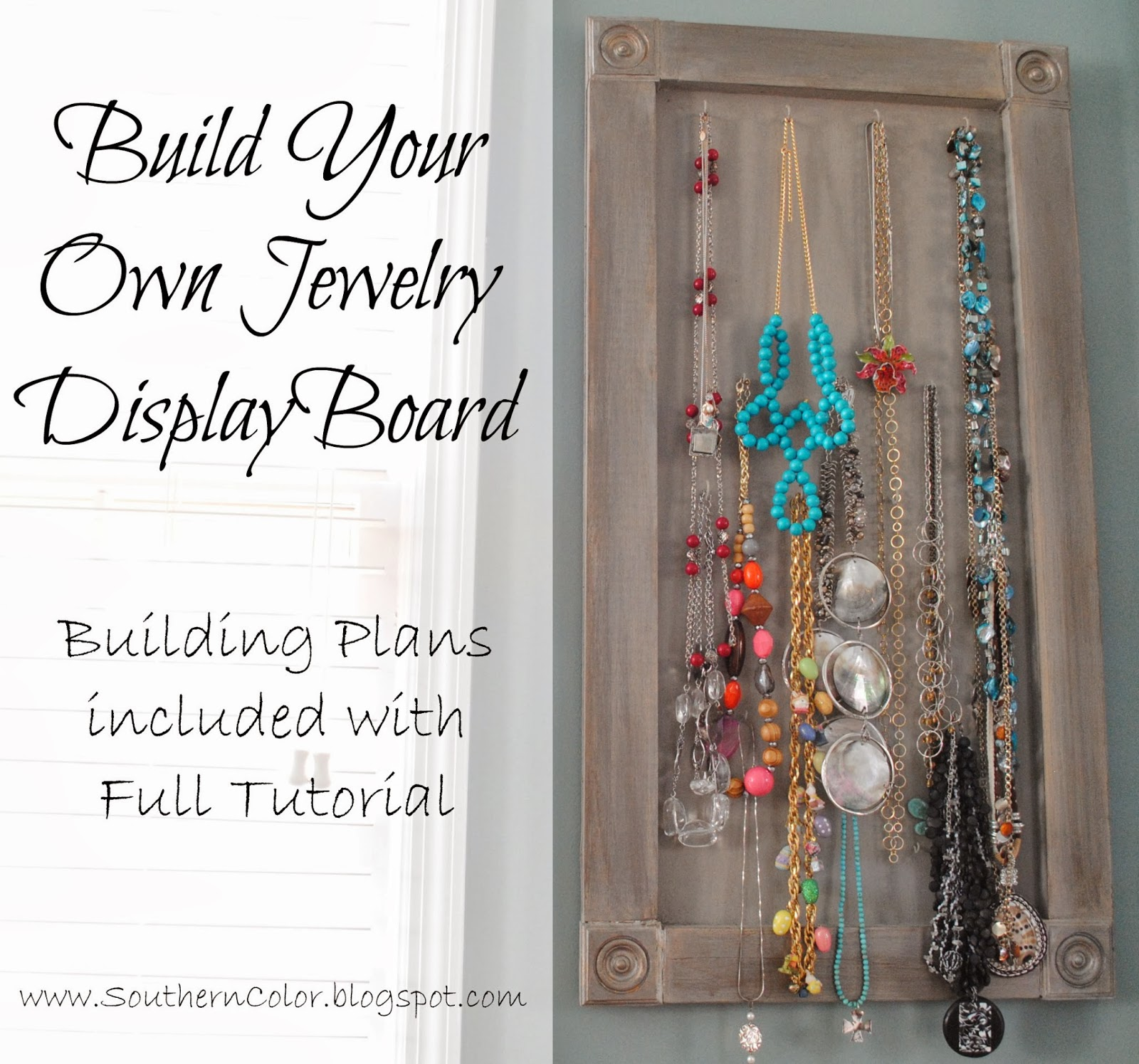 Make Your Own Jewellery Display Board