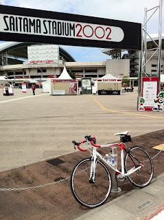 アンカーRCS6で埼玉スタジアム2002まで行ってみた