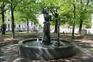 Brunnenfigur von Joachim Schmettau