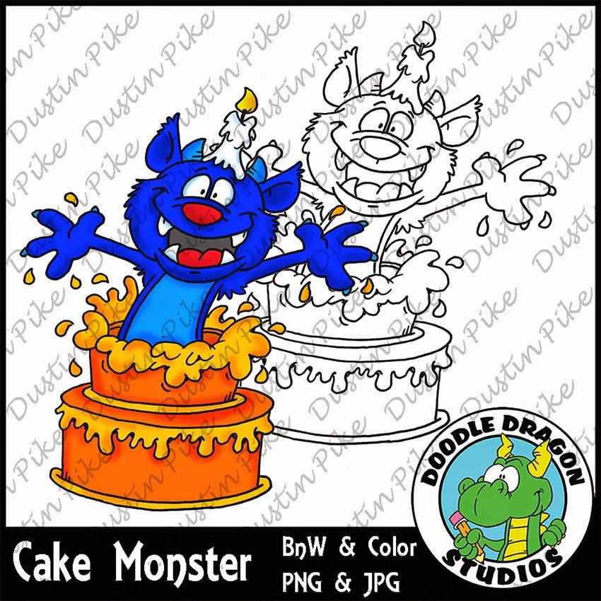 http://www.doodledragonstudios.com/digital-stamps/cake-monster/prod_385.html