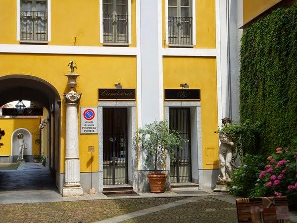 Turin Italie Via Po