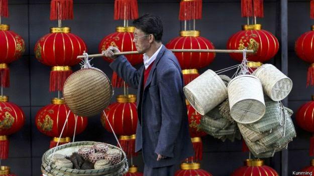 Kunming é um centro de turismo no sudeste asiático e superou Macau em crescimento do PIB per capital