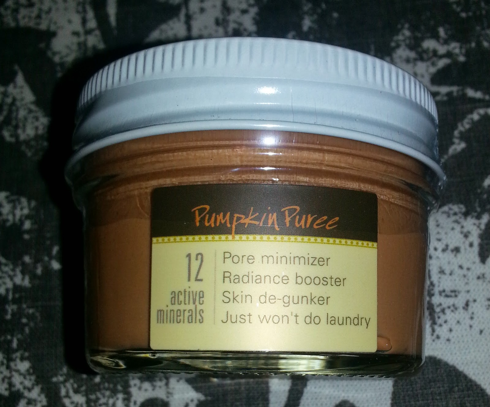FarmHouse Fresh Splendid Dirt Nutrient Rich Mud Mask in Pumpkin Puree